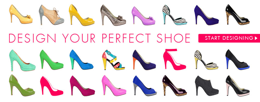 Design your own beautiful shoes with Shoes of Prey